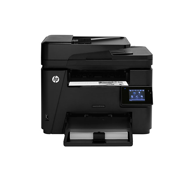 hp laserjet pro wireless monochrome laser all in one printer copier scanner fax m225dw. Black Bedroom Furniture Sets. Home Design Ideas